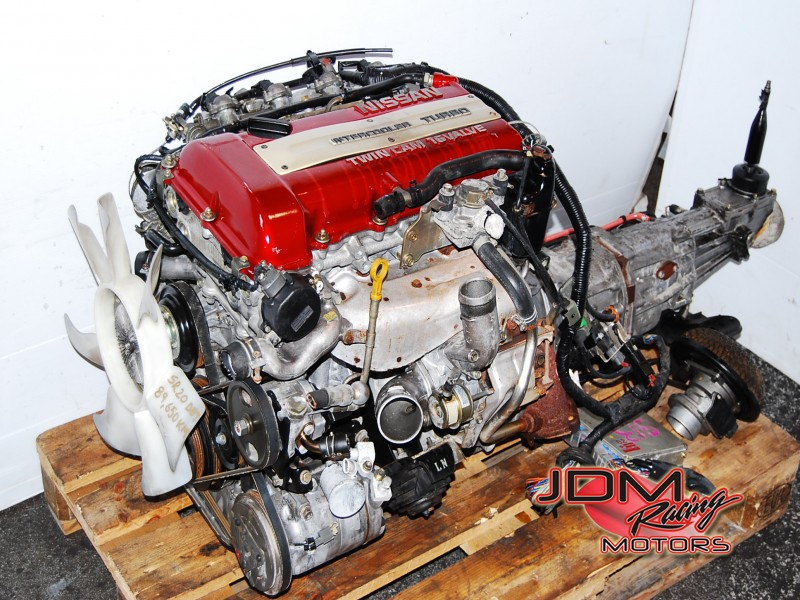 JDM NISSAN SR20DET S13 Redtop Engine, SR20 Turbo Motor Manual 5 Speed  Transmission Silvia, 180SX 240